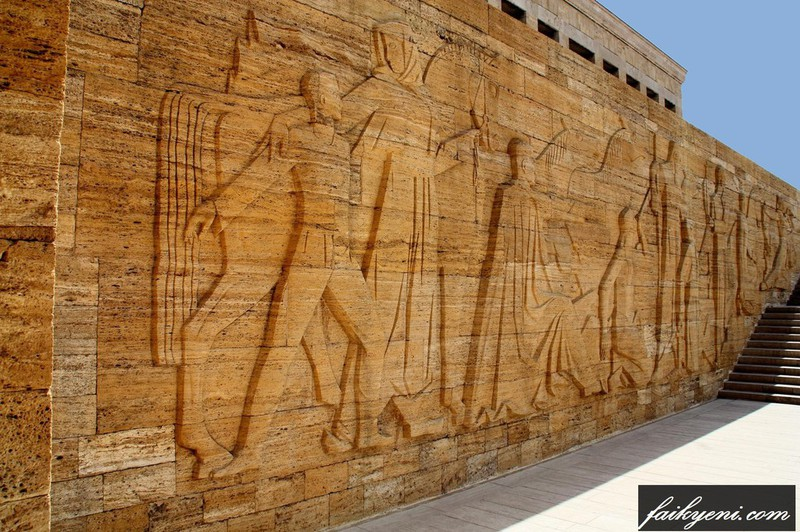 ANITKABİR BAŞKOMUTAN MEYDAN MUHAREBESİ KONULU KABARTMA ile ilgili görsel sonucu